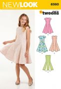 6360 New Look Pattern: Girls' Dresses
